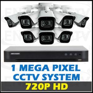 720P HD CCTV Camera Package