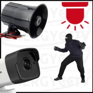 Alarm System with CCTV Packages