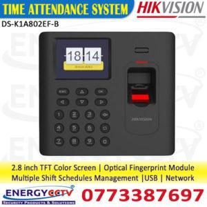 Hikvision-DS-K1A802EF-B-Fingerprint-sri-lanka-sale in sri lanka best price