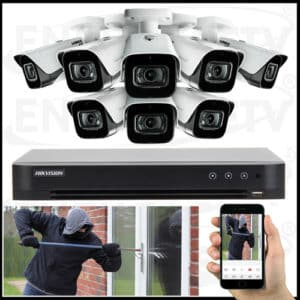 CCTV Camera Package With Installation - HIKVISION TURBO HD