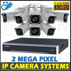 2MP Digital Video IP Camera System