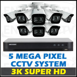 5MP 3K Super HD CCTV Camera Package