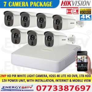 2MP-HD-PIR-WHITE-LIGHT-7-CAMERA-PKG-with-4K-Lite-DVR sale in sri lanka best price