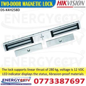 DS-K4H258D-Two-door-magnetic-door-lock-for-access-control-sri-lanka