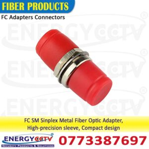FC to FC Single Mode Simplex Fiber Optic Adapter best price in Sri Lanka