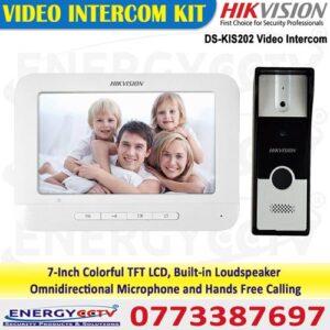 hikvision DS-KIS202 video door phone system in sri lanka video door bell