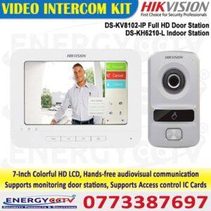 Hikvision DS-KH6210L with DS-KV8102-IM Digital Video Door Phone System